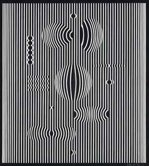 Victor Vasarely-Untitled-1972