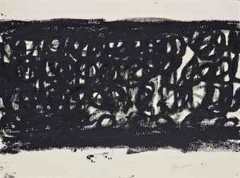 Jannis Kounellis-Untitled VI-1998