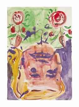 Georg Baselitz-Elke 1945 (12. I. 97)-1997
