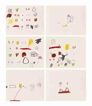 Mika Rottenberg-(i) m1; (ii) m2; (iii) m5; (iv) m6; (v) m11; (vi) m12-2010