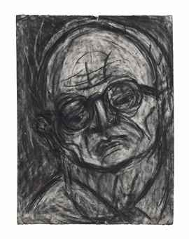 Leon Kossoff-Head of Chaim-1987