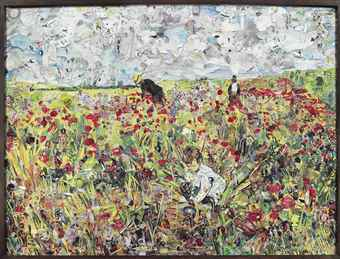 Vik Muniz-Picking Flowers in a Field, After Mary Cassatt (Pictures Of Magazines 2)-2012