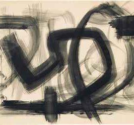 Fritz Winter-Abstrakte Komposition-1963