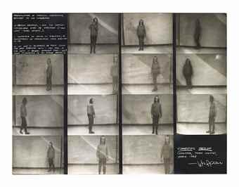 Vito Acconci-Connecting Medium-1971