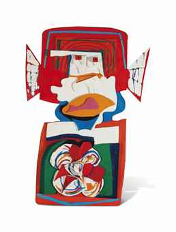 Karel Appel-Grande Tete Rouge (Big Red Head)-1967