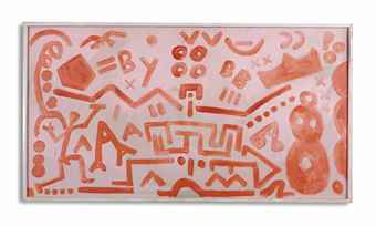 A.R. Penck-The Sentimentality of the West-1985