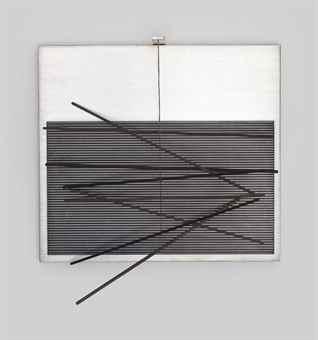 Jesus Rafael Soto-Vibrations Metalliques (Metallic Vibrations)-1969