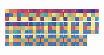 Peter Struycken-Plons 190273-2A (Splash 190273-2A)-1973