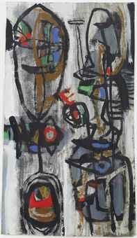 Anton Rooskens-Masks-1949