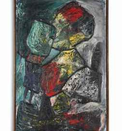Lucebert-Mother and Child-1961