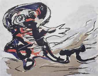 Karel Appel-Wherefore-1962
