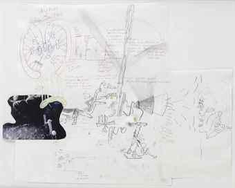 John Bock-Untitled (Skipholt) (Sheep Hill)-2007