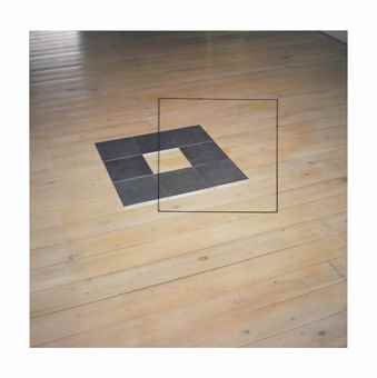 Jan Dibbets-Perspective Collection 'Carl Andre II'-2004