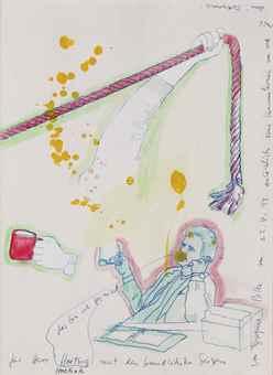 Sigmar Polke-Untitled (Das Bin Ich Gar Nicht) (That's Really Not Me)-1999