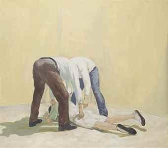 Guy Van Bossche-Untitled (Arrest Horizonthal)-2005