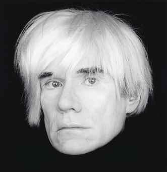 Robert Mapplethorpe-Andy Warhol-1987