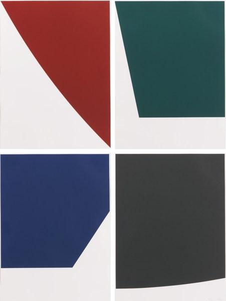 Ellsworth Kelly-Mallarme Suite (A. 266.1-4)-1992