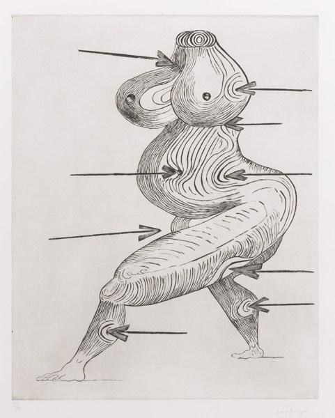 Louise Bourgeois-Ste Sebastienne (Wye 110.2)-1992