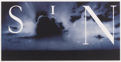 Ed Ruscha-Sin-Without-2002