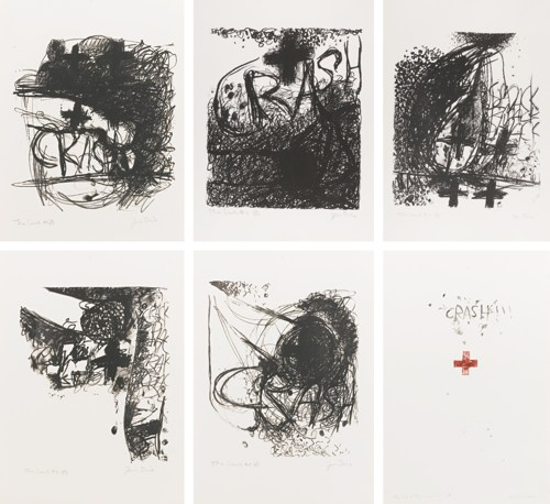 Jim Dine-Car Crash I-V And End Of The Crash (Mirko 1-6)-1960
