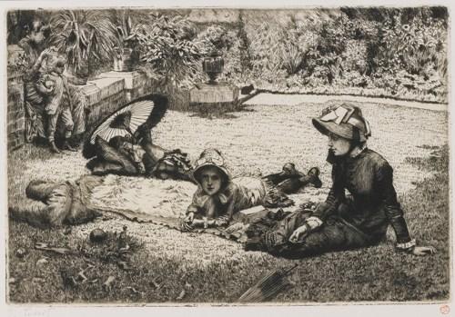 James Jacques Joseph Tissot-En Plein Soleil (W. 54)-1881