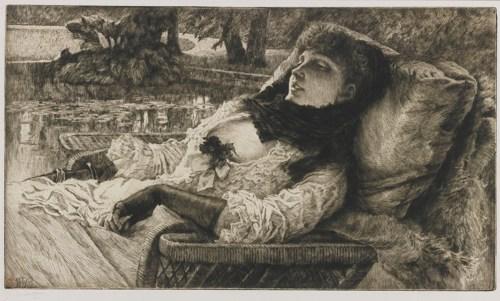 James Jacques Joseph Tissot-Soiree D'Ete (W. 56)-1882