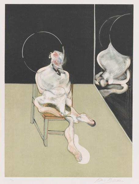 Francis Bacon-Seated Figure (Sabatier 5)-1983