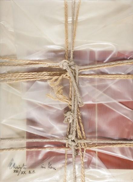 Christo and Jeanne-Claude-Wrapped Book Modern Art (Schellmann 95)-1978