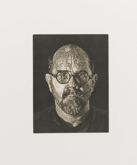 Chuck Close-Self-Portrait-1997
