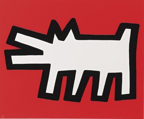 Keith Haring-Barking Dog (L. Pgs. 170-171)-1990