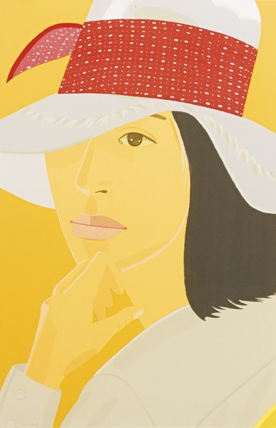 Alex Katz-The Red Band (Maravell 116)-1979