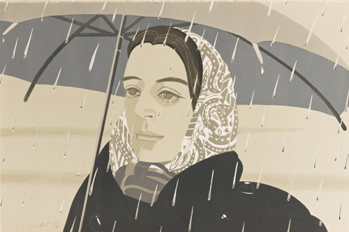 Alex Katz-Gray Umbrella (M. 122)-1980