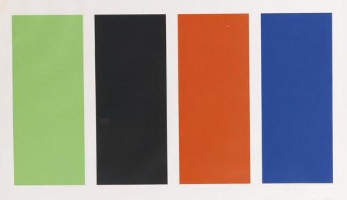 Ellsworth Kelly-Four Panels (Axsom 72)-1971