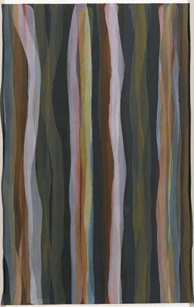 Sol LeWitt-Brushstrokes In Different Colors In Two Directions, Plate #01 (Krakow 1993.08)-1993