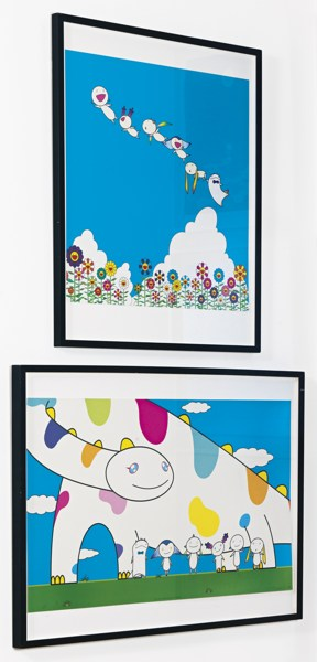 Takashi Murakami-Planet 66 Summer Vacation And Yoshiko And The Creatures From Planet 66-2004