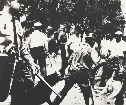 Andy Warhol-Birmingham Race Riot (Feldman & Schellmann II.3)-1964