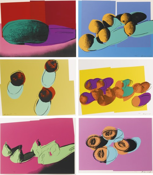 Andy Warhol-Space Fruit: Still Lifes (F. & S. II.198-203)-1979