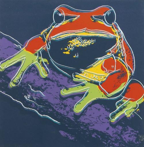 Andy Warhol-Pine Barrens Tree Frog (F. & S. II.294)-1983