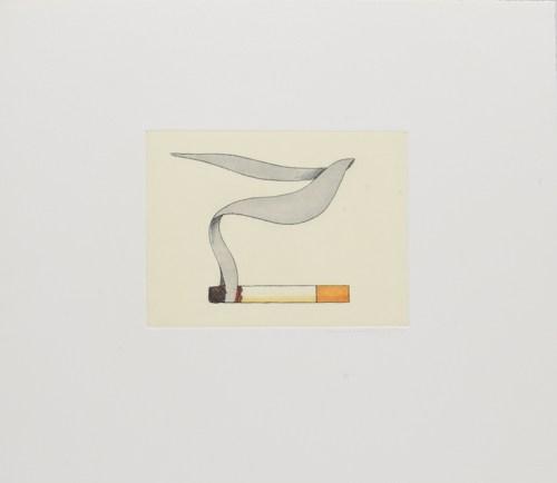 Tom Wesselmann-Smoking Cigarette #1-1991