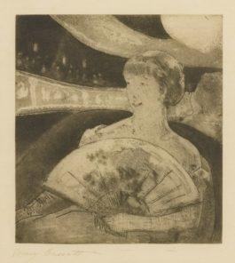 Mary Cassatt-In The Opera Box (No. 3) (Breeskin 22)-1880