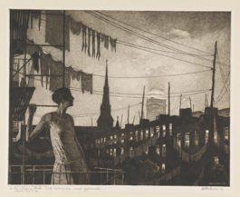 Martin Lewis-Glow Of The City (Mccarron 77)-1929
