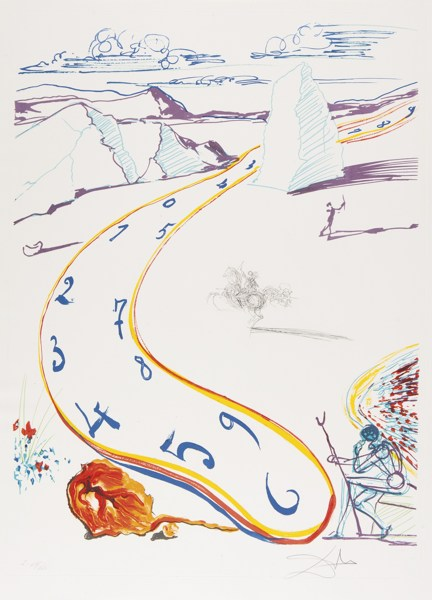 Salvador Dali-Imaginations And Objects Of The Future (Michler/Lopsinger 822-831; Field 75-11)-1976