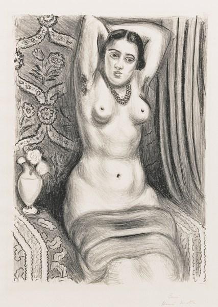 Henri Matisse-Torse A L'Aiguiere (D. 494)-1927