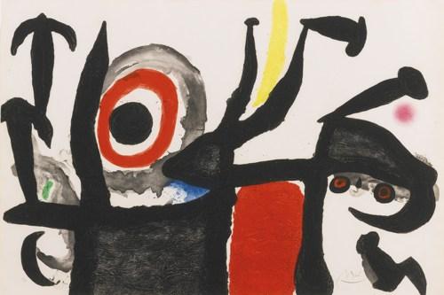 Joan Miro-Manoletina (D. 509)-1969