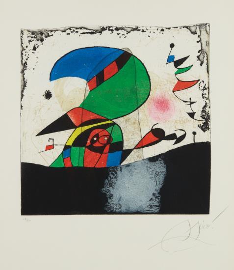 Joan Miro-Gaudi Iv-1979
