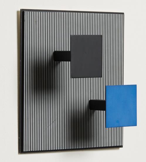 Jesus Rafael Soto-Dos Cuadritos (Two Squares)-1972