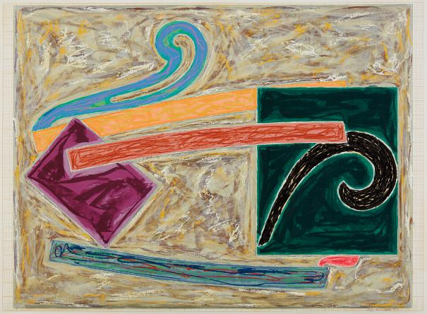 Frank Stella-Inaccessible Island Rail, From Exotic Bird Series-1977