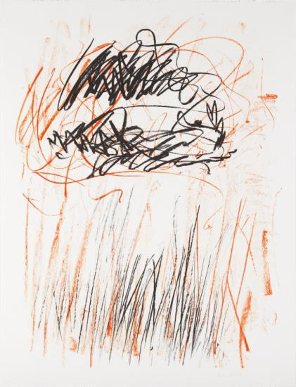 Joan Mitchell-Flower II, From The Bedford Series-1981