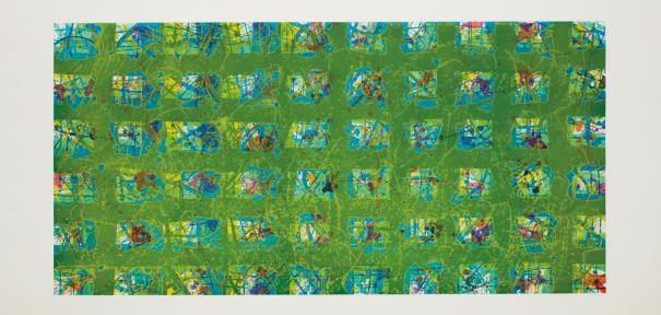 Sam Francis-La Primavera (Spring)-1988