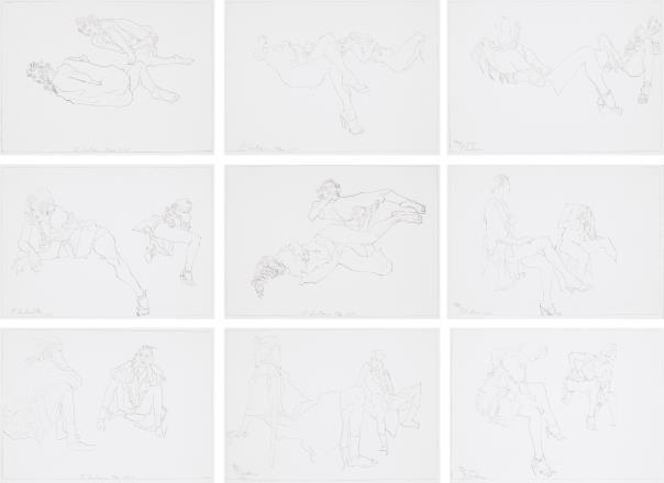 Robert Graham-Mirror Drawings-1997